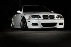 Alpine White BMW M3 (E46)