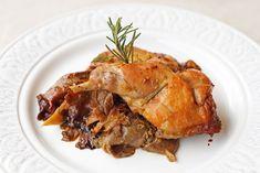 Κουνέλι στο Φούρνο με Μουστάρδα και Μανιτάρια Pork, Turkey, Meat, Kale Stir Fry, Turkey Country, Pigs, Pork Chops