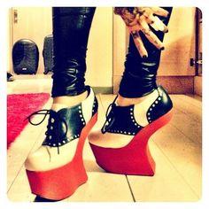 """""""shoe of the day"""" - Kat Von D"""