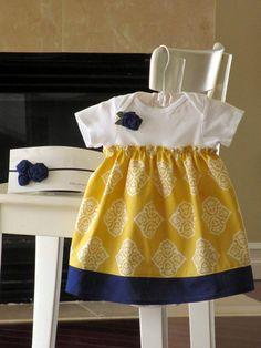 Baby onesie dress inspiration