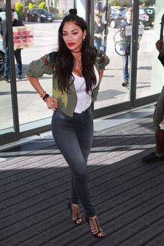 Nicole Scherzinger Shows Off Her Sexy Butt In Tight Jeans As She Attends At The X Factor Auditions In Manchester Watch Her And More Celeb