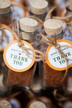Spices as wedding favors! What a great idea! - Photography By / lisacrispo.ca, Floral Design By / bloomsandposies.com
