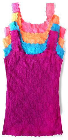 Hanky Panky Signature Lace Classic Camisole in New Colors for Summer 2015!