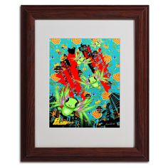 'Pulgha Japan 2' by Miguel Paredes Framed Graphic Art