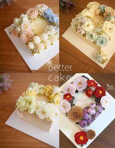 Done by student of Better class (베러 심화클래스/Advanced course) www.better-cakes.com  #buttercream#cake#베이킹#baking#koreanbuttercream#koreancake#버터크림케이크#베러케익#yummy#flowers#꽃#sweet#플라워케익#foodporn#birthday#wedding#디저트#foodie#dessert#버터크림플라워케이크#following#food#piping#beautiful#flowerstagram#instacake#pastry#꽃스타그램#공방#instafood#