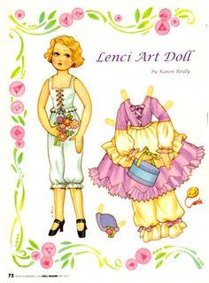 Lenci An Art Doll - Debbie - Álbumes web de Picasa
