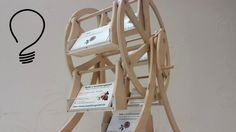 Making a Ferris wheel out of plywood. Scroll saw and a hand drill is pretty much everything you need to build one. I've designed this structure to hold busin...