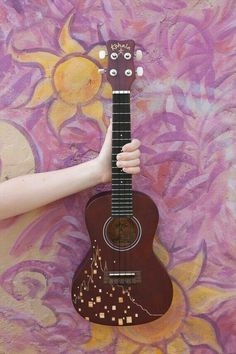 Kala Ukulele - Always Wanted To Learn Guitar? Kala Ukulele, Ukulele Art, Ukulele Chords, Guitar Art, Music Guitar, Cool Guitar, Acoustic Guitar, Ukulele Soprano, Small Guitar