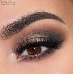 The power of makeup:) #maryammaquillage #smokyeyes