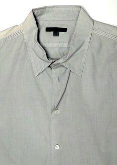 Men's JOHN VARVATOS Button Front Casual Shirt Size 2XL