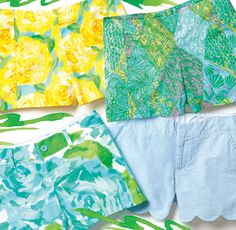 Lilly Pulitzer Spring Shorts
