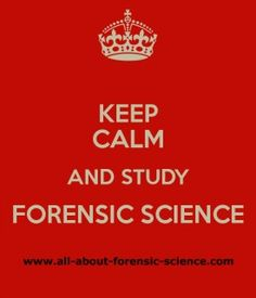 All About Forensic Science - A free and comprehensive guide to the world of forensic science #ForensicScience #CSI
