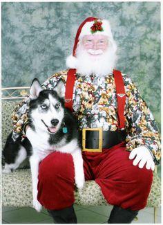 GorGor with Santa #pinitforpetsmart