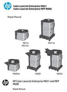 HP Color LaserJet Pro MFP M274 M252n M252dw M277 Service
