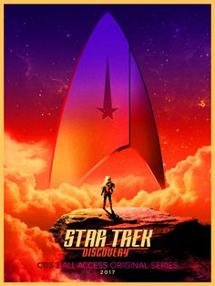 The new Star Trek series has an official title. During the Star Trek panel at Comic-Con in San Diego on… Star Trek Wallpaper, New Star Trek, Star Wars, Star Trek Posters, Movie Posters, Discovery 2017, Uss Discovery, Science Fiction, Sonequa Martin Green