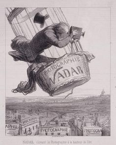 Balloon Photographer by Daumier