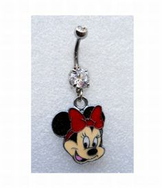 MINNIE MOUSE W/ SPARKLES Navel Belly Button Ring Body Jewelry Piercing body jewelry http://www.amazon.com/dp/B00HJB3762/ref=cm_sw_r_pi_dp_7NENtb1JC214PTF1