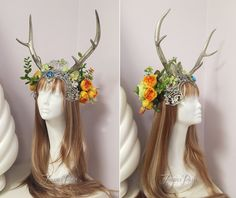 Summer Solstice Headdress by Lillyxandra.deviantart.com on @DeviantArt