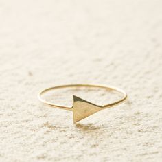 14k gold Arrow Ring