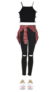 """Untitled #154"" by hstoran ❤ liked on Polyvore featuring Topshop, R13 and Converse"