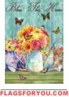 Bless This Home Garden Flag Yard Flags, Blessed, Home And Garden, Butterfly, House, Painting, Art, Art Background, Home