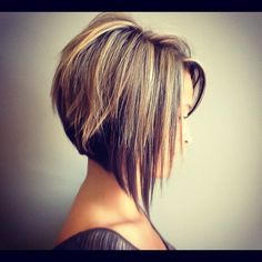 Fall lowlight. Love this cut!! But my boyfriend don't allow me to cut above the shoulders:-/