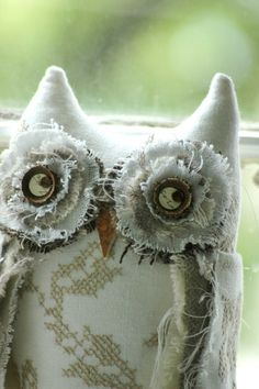 Into-the-Woods Woodland Owl Bromwell by Lori Nichols on Etsy. #owl