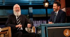 Watch David Letterman Return to Late Night TV on 'Kimmel'  ||  Two years after retiring from 'The Late Show,' David Letterman returned to late night television Tuesday when he visited 'Jimmy Kimmel Live.' http://www.rollingstone.com/tv/news/watch-david-letterman-return-to-late-night-tv-on-kimmel-w509495?utm_campaign=crowdfire&utm_content=crowdfire&utm_medium=social&utm_source=pinterest