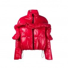 Shop Bright Clothing and Accessories to Wear This Winter: MSGM Drawstring Puffer Jacket   coveteur.com