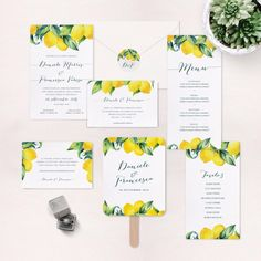 My Wedding Paper Watermelon Wedding, Fruit Wedding, Wedding Menu, Wedding Paper, Yellow Wedding, Wedding Decor, Nautical Wedding Invitations, Destination Wedding Invitations, Printable Wedding Invitations