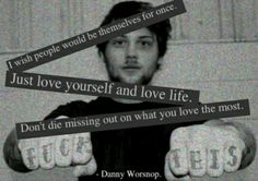 Danny Worsnop from Asking Alexandria.