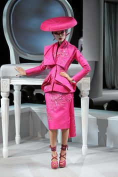 Christian Dior Haute Couture | Christian Dior Haute Couture by John Galliano Runway Show Video Look ...
