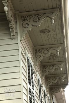 One of the many corbels we spotted on our trip to New Orleans -- hop on over to see more sightseeing finds