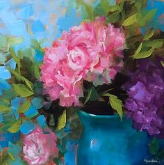 Nancy Medina Art: Peony Hearts and Breaking Down the Essentials of t...