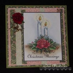 Christmas Blessings by busyhoneybee - Cards and Paper Crafts at Splitcoaststampers