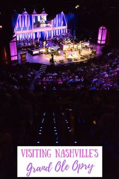 Visiting the Grand Ole Opry is a must-do when traveling to Nashville. Here's everything you need to know — from taking a tour to experiencing a live show! #nashvilletravel #grandoleopry