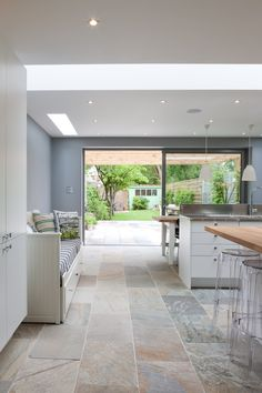 Open plan kitchen