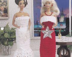 Einfach atemberaubende Kleider, Annies Modepuppe Kleidung häkeln Muster Faltblatt FC44-03-Club