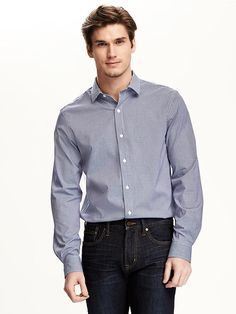 Regular-Fit Non-Iron Signature Shirt for Men