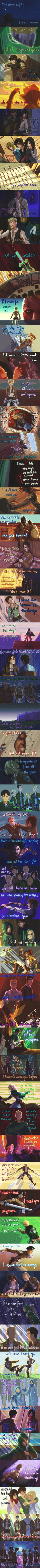 This is Attack on Titan summed up. It's sad how accurate to the show this is.