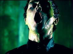 Green Day - American Idiot - Punk Rock Noir - green production design, sidelit