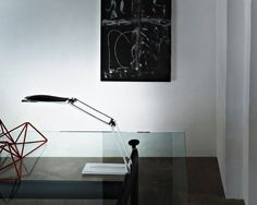 Design aluminium desk lamp CHAIN by Ilaria Marelli NEMO