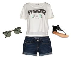 """""""Summer Love♥️"""" by kragrg ❤ liked on Polyvore featuring mode, ONLY, Aéropostale, Wet Seal en Ray-Ban"""