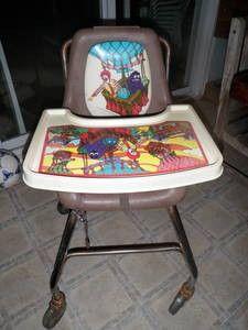 Vintage McDonald's high chair