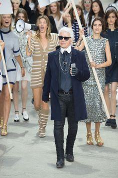 See the Chanel Spring 2015 runway show.
