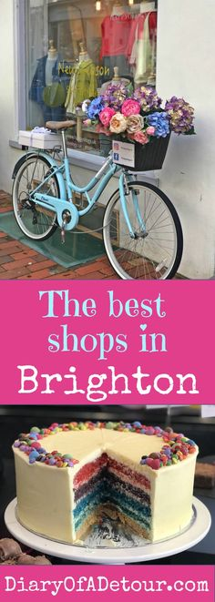The best Brighton shops. A selection of vibrant independent traders with some unusual items for purchase from outrageous shoes to delicious chocolate. Brighton Shops, Visit Brighton, Brighton England, Sightseeing London, London Travel, Cornwall, Abandoned Amusement Parks, Things To Do In London, Travel Design
