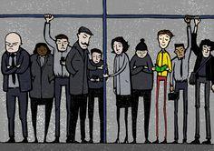 'Happiness On The Underground'