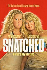 Snatched on DVD August 2017 starring Amy Schumer, Goldie Hawn, Wanda Sykes, Ike Barinholtz. After her boyfriend dumps her on the eve of their exotic vacation, impetuous dreamer Emily Middleton (Amy Schumer) persuades her ultra-cauti Hd Movies Online, New Movies, Movies To Watch, 2017 Movies, Film 2017, Imdb Movies, Movies Free, Latest Movies, Current Movies