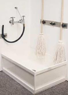 One Piece Molded Stone Mop Basin