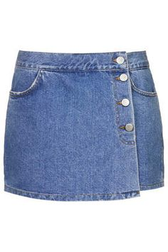 MOTO Denim Skort - New In This Week - New In